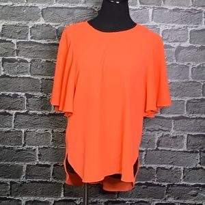 Gibson Latimer Sz S Neon Blouse SO CUTE!